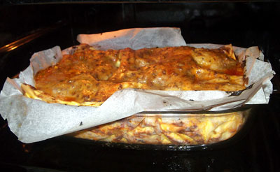 lasagne med skruer