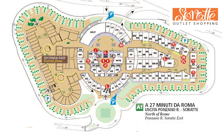 SORATTE OUTLET SHOPPING Piazza Felice Abballe 73dfb556505