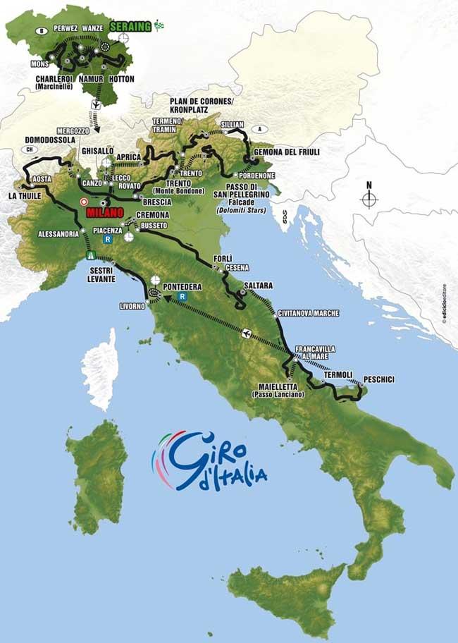 Giro D Italia 2006 Italy Dk Et Webmagasin Om Italien