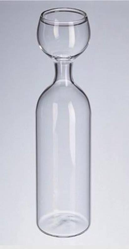 vinglas til en hel flaske