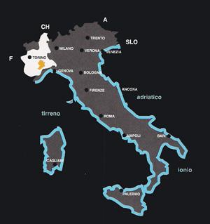 Vindistrikterne I Langhe Roero I Piemonte Www Italy Dk